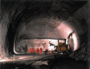 Tunnelbau Bild