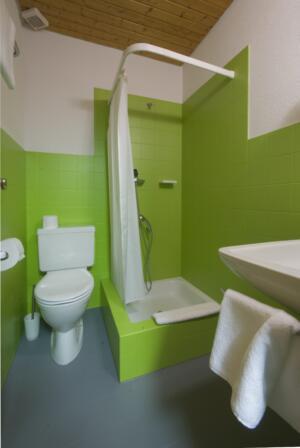 einfach sanierte Klienten Dusche